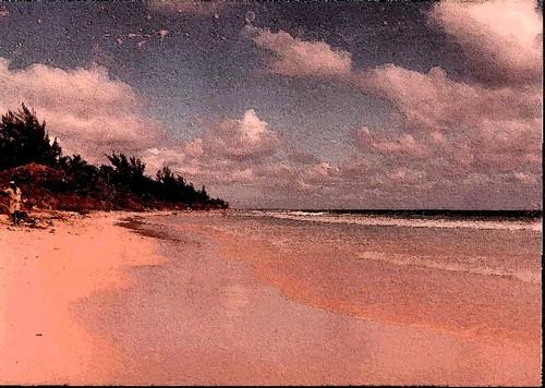 Briland beach, 1980
