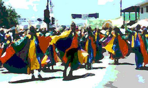Watercolour dock women